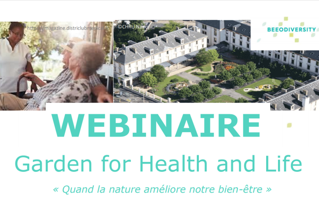 "Webinaire ""Garden for Health and Life"""